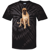 English Mastiff What's for Lunch Unisex 100% Cotton Tie Dye T-Shirt