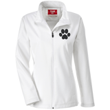 Paw Print Team 365 Ladies Soft Shell Jacket