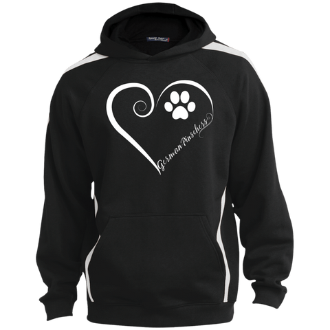 German Pinscher, Always in my Heart Colorblock Sweatshirt