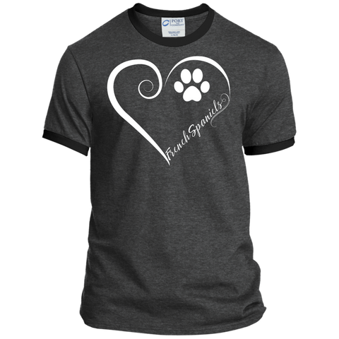 French Spaniel, Always in my Heart Ringer Tee