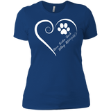Nova Scotia Duck Tolling Retriever, Always in my Heart Ladies' Boyfriend Tee