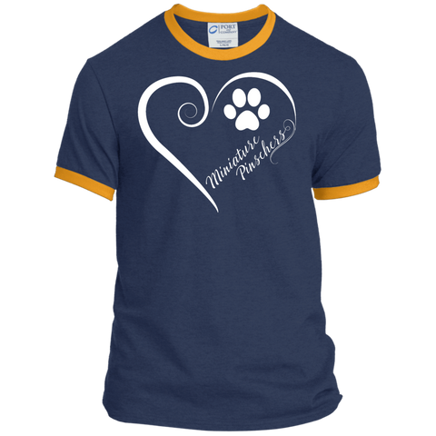 Miniature Pinschers, Always in my Heart Ringer Tee