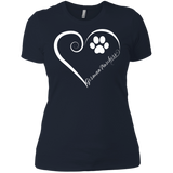German Pinscher, Always in my Heart Ladies' Boyfriend Tee