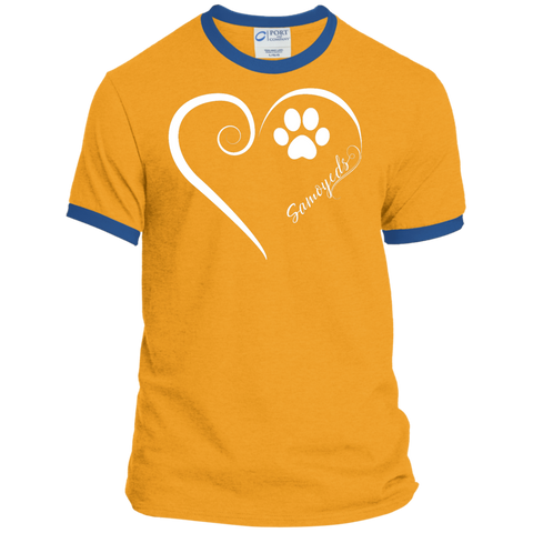 Samoyed, Always in my Heart  Ringer Tee