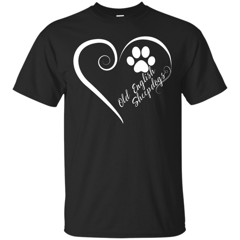 Old English Sheepdog, Always in my Heart Tee