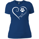 Dogue De Bordeaux, Always in my Heart Ladies' Boyfriend Tee