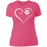Jagdterriers, Always in my Heart Ladies' Boyfriend Tee