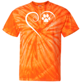 Mastiff, Always in my Heart Tie Dye Tee