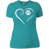 Maltipoo, Always in my Heart Ladies' Boyfriend Tee
