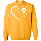 Poodle, Always in my Heart Sweatshirt