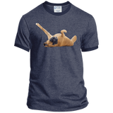 Let The Belly Rubs Begin Ringer Tee