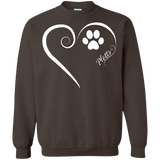 Plott Hound, Always in my Heart Sweatshirt