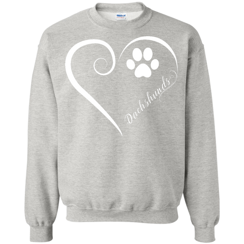 Dachshund, Always in my Heart Sweatshirt