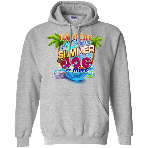 Don't Care Summer Hoodie