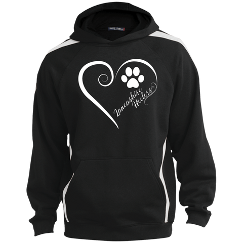 Lancashire Heeler, Always in my Heart  Colorblock Sweatshirt