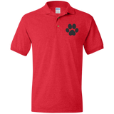Paw Print Jersey Polo Shirt for Him