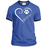 Entlebucher Mountain Dog, Always in my Heart Ringer Tee