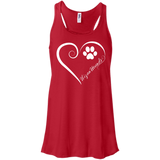 Ibizan Hound, Always in my Heart Flowy Racerback Tank