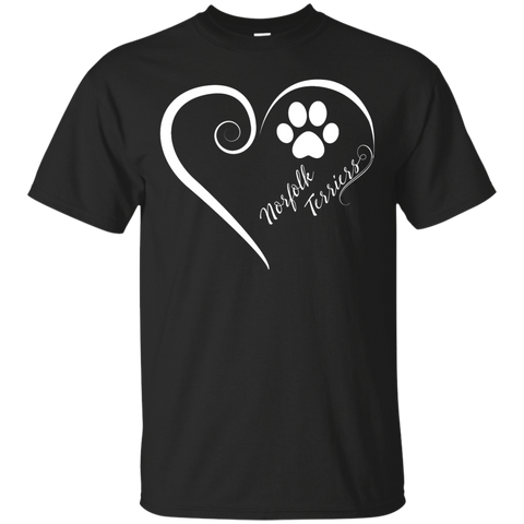 Norfolk Terrier, Always in my Heart Tee