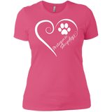 Portuguese Sheepdog, Always in my Heart Ladies' Boyfriend Tee