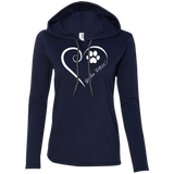 Gordon Setter, Always in my Heart Ladies T-Shirt Hoodie