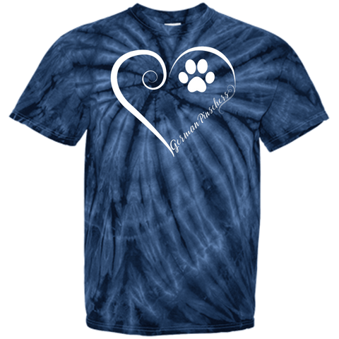 German Pinscher, Always in my Heart Tie Dye T-Shirt