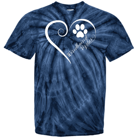 Wiredhaired Vizsla, Always in my Heart Tie Dye Tee