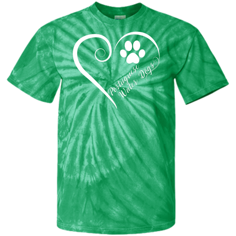 Portuguese Water Dog, Always in my Heart  Tie Dye Tee
