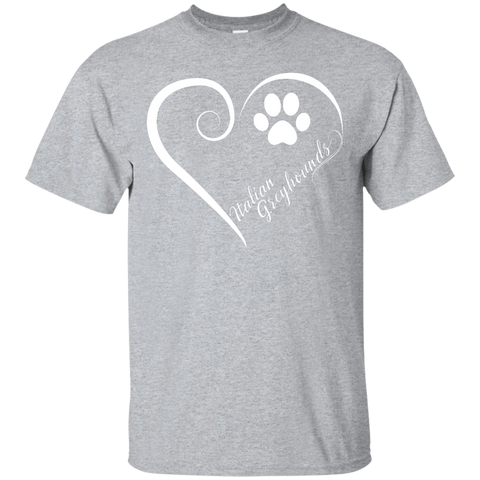 Italian Greyhound, Always in my Heart Tee