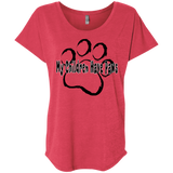 My Children Have Paws Ladies' Triblend Dolman Sleeve