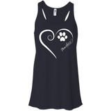 Pomsky, Always in my Heart Flowy Racerback Tank