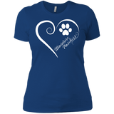 Miniature Pinschers, Always in my Heart Ladies' Boyfriend Tee