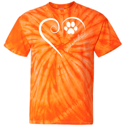 Goldendoodle, Always in my Heart Tie Dye T-Shirt