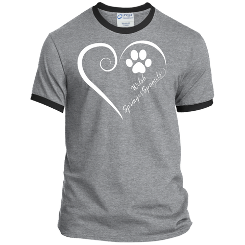 Welsh Springer Spaniel, Always in my Heart Ringer Tee