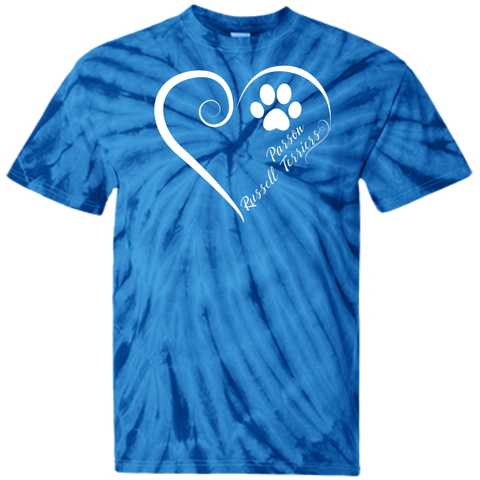 Parson Russell Terrier, Always in my Heart  Tie Dye Tee