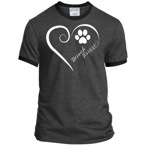 Norwich Terrier, Always in my Heart  Ringer Tee