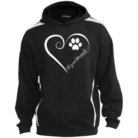 Ibizan Hound, Always in my Heart  Colorblock Sweatshirt