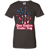 One Nation Under Dog Ladies Tee
