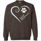 English Toy Spaniel, Always in my Heart Sweatshirt