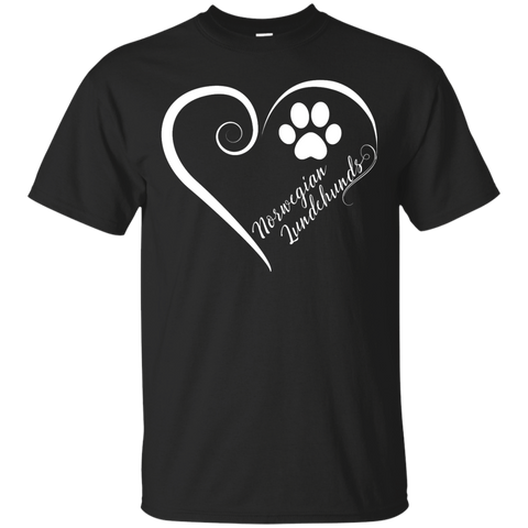 Norwegian Lundehund, Always in my Heart Tee