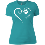 Kuvasz, Always in my Heart Ladies' Boyfriend Tee
