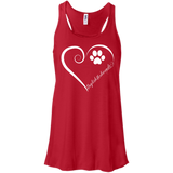 English Foxhound, Always in my Heart Flowy Racerback Tank