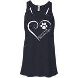 Greater Swiss Mountain Dog, Always in my Heart Flowy Racerback Tank