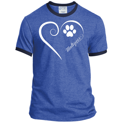 Maltipoo, Always in my Heart Ringer Tee