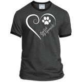 English Toy Spaniel, Always in my Heart Ringer Tee