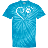 English Cocker Spaniel, Always in my Heart Tie Dye T-Shirt