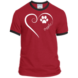 Puggle, Always in my Heart Ringer Tee
