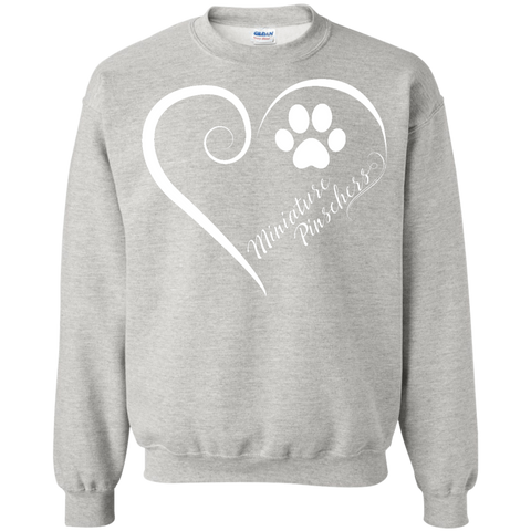 Miniature Pinschers, Always in my Heart Sweatshirt