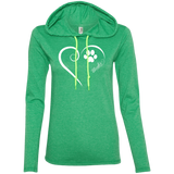 Mudi, Always in my Heart Ladies T-Shirt Hoodie