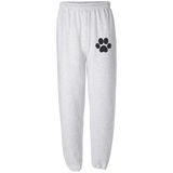 Paw Print Fleece Sweatpant without Pockets